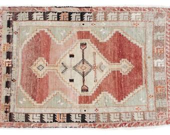 DISCOUNTED 3x4 Vintage Oushak Rug