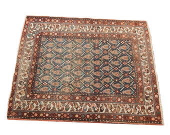 DISCOUNTED 3.5x4 Antique Persian Rug Square