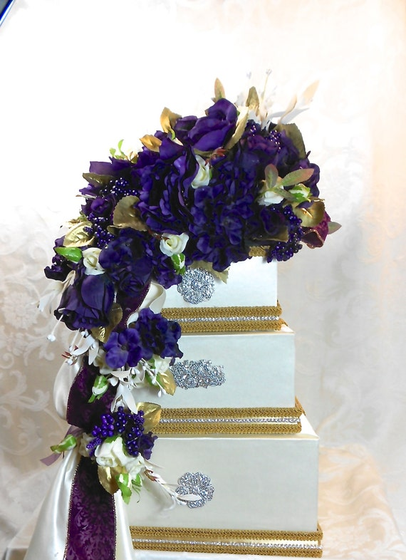 Wedding Card Box Purple Wedding Card Holder Wedding Card Box Secure ...