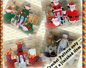 PDF Crochet Pattern Christmas Sets Special Offer