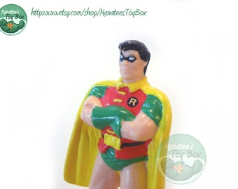 Robin Figure 1980s Toy PVC from DC Comics