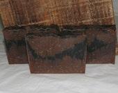 Lavender Cinnamon and Vanilla Goat Milk Luxury Cold Process Rustic Soap