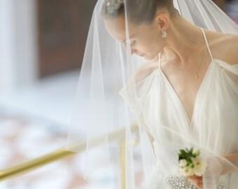 Annabelle Drop Bridal Veil