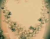 Pearl Wedding Necklace Bridal Jewelry