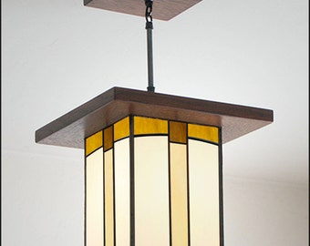 Craftsman Style Pendant light - Hall, Entryway & Kitchen Island Light
