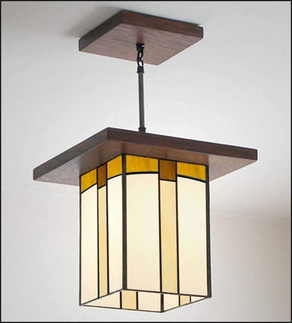 craftsman style pendant light entryway kitchen