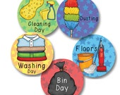 PLANNER stickers - Chores - Customize your set.