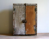 Primitive Wall Cabinet Cupboard, Rustic Wall Cabinet Cupboard