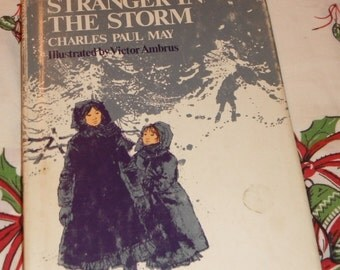 Stranger in the Storm by Charles Paul May hardcover with dust jacket Vintage Book
