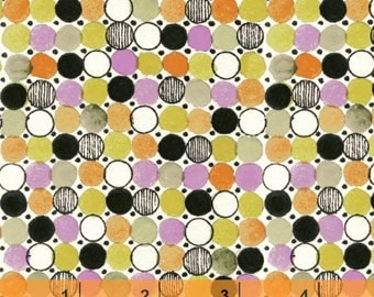 Flirt - Dots Orange by Another Point of View from Windham Fabrics