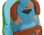 Personalized Backpack  Stephen Joseph Sidekicks Toddler Dog