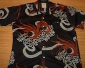 Mens Vintage 70s HRH McInernys Hipster Hawaiian Shirt - XXL - The Hana Shirt Co