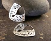 Ananda silver earrings