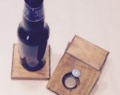 Bottle Opener /Coaster 2 in 1