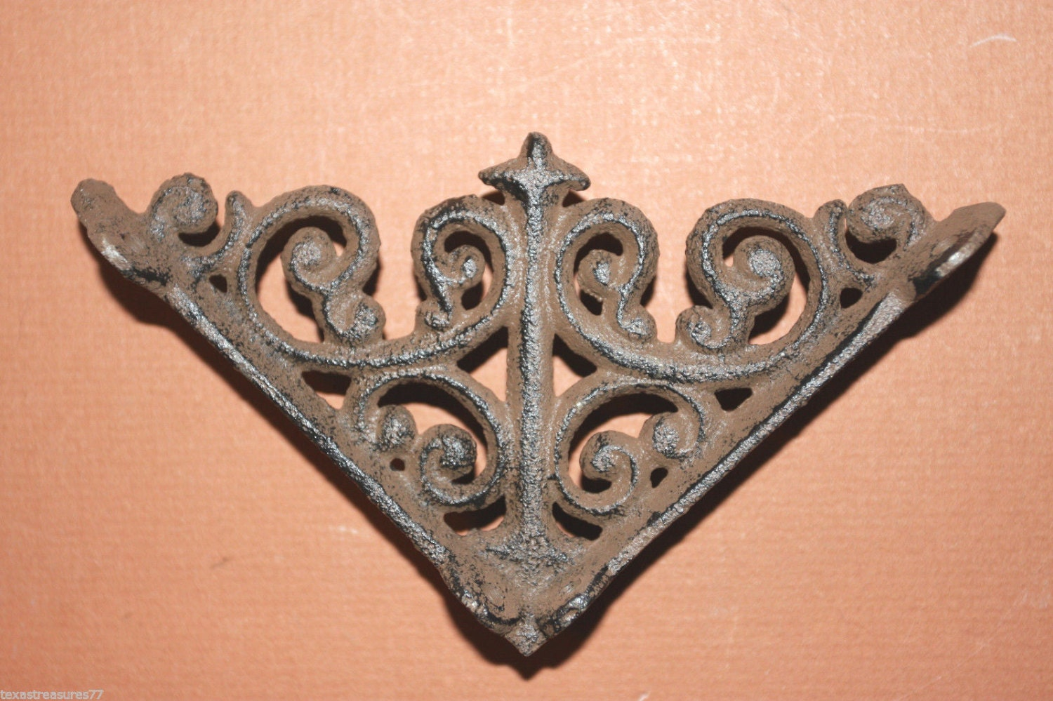 18 Cast Iron Shelf Brackets 4 Shelf Brackets 4 By RUNNINGTIDE