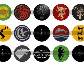 Game of Thrones bottle cap images