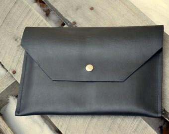 Leather iPad Sleeve, iPad Case, iPad Envelope, iPad Cover