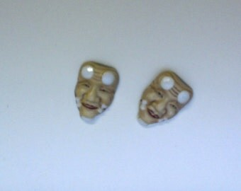 Arita Porcelain Cuff LInks Vintage Japanese Art Jewelry