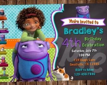 Home Birthday Invitation (HO01)
