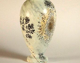 Dendritic Soapstone Keepsake Vase