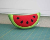 Watermelon Plush  - Watermelon Toy - MOVING SALE! 40% OFF! - Ready-To-Ship