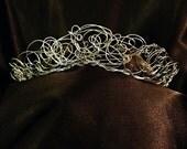 Crown, Bridal headpiece, Wire Tiara, Boho Jewelry, Wire Wrap, Wedding Headpiece, Wire Crown, Wire Jewelry, Wire Headband,