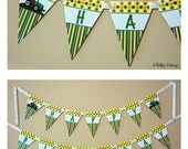 Tractor Birthday Banner, Instant Download, Printable, Digital