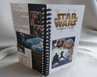 Star Wars Return of the Jedi 2000 edition VHS Tape Box Notebook