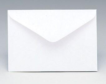 "50ct WHITE Florist Enclosure Card ENVELOPES - Mini Small 3"" x 4-1/2"" (Free Shipping!)"
