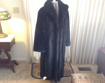 Full Length Mink Coat 10 - 12 Donenfelds Dayton