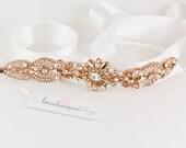Swaorvski Bridal Headpiece, Rose Gold Headpiece, Bridal Tiara, Bridal Accessories, Bridal Jewelry, Wedding Headpiece, Bridal Headband