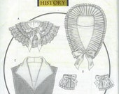 UNCUT Butterick 5062 Misses' Historical Collars and Cuffs Sewing Pattern