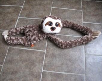 Plush Sloth HEATING PAD Pattern - Instant Digital Download