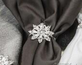 1pc Snowflake Napkin Ring, Rhinestone Wedding Napkin Rings Christmas Napkin Ring Winter Wedding Table Decor Wedding Bling, 541-S-N