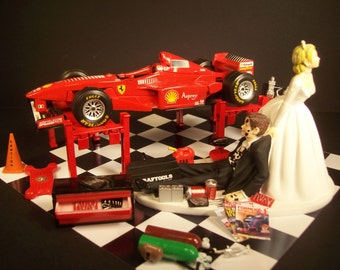 Auto car wash nissan 370 z bride and groom wedding by for F1 car cake template