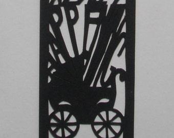 Papercut Bookmark: Rosemary's Baby