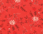 Valentine Day - Table for Two Fabric Collection by Sandy Gervais for Moda Fabrics - Lipstick 17751 13 - 1 Yard
