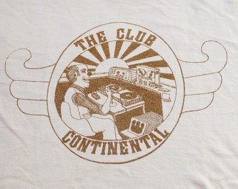 Vintage 70s The Club Continental T-Shirt