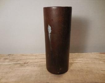 Antique Wooden Drill Index Bit Holder
