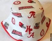 Alabama Crimson Tide Unisex Bucket Hat by Hamlet Pericles Inc.