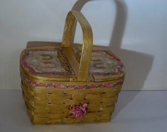 """vintage handbag   Pique -nique chez Marie Antoinette""""  unique piece retro chic    steampunk bag french touch"""