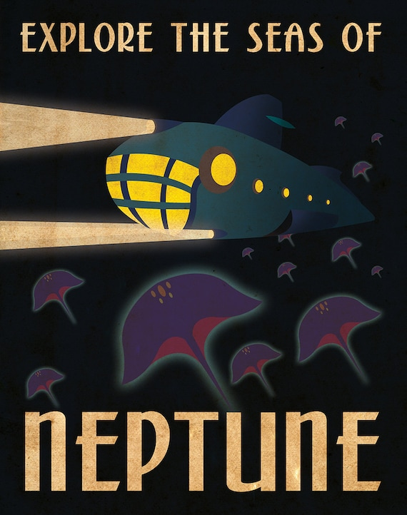 Nasa Travel Posters For Sale