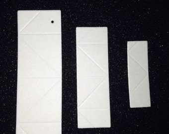 3D Origami  Paper  Light Grey