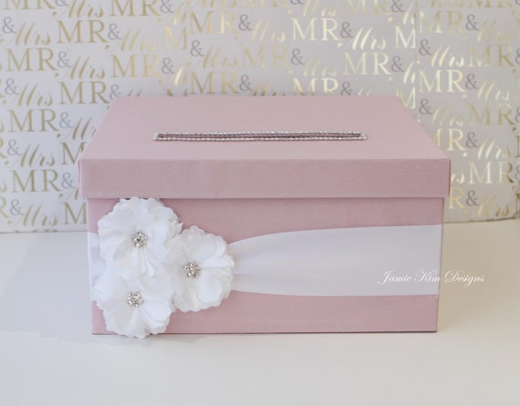 Wedding Gift Card Box Money Box- Custom Made to Order