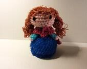 Amigurumi/Loomigurumi Rubber Band Crochet Ice Princess Sister