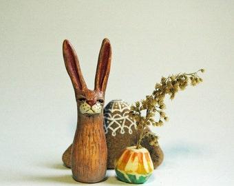 Brown Tall Rabbit