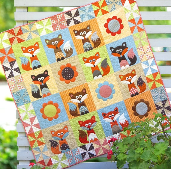 Mr Fox's Garden - PDF Quilt Pattern