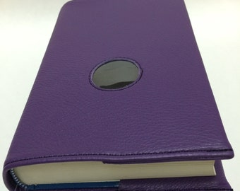 AA Big Book and 12 & 12 Leather Book Cover with Chip Hole