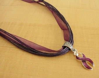 Purple Cotton Awareness Bracelet Add Adhd A1ad