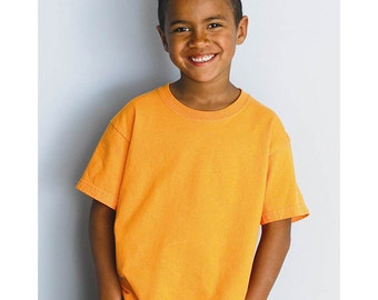 Youth Short Sleeve T-shirt - Custom Colors for Any Design in Our Shop - Kids Tee